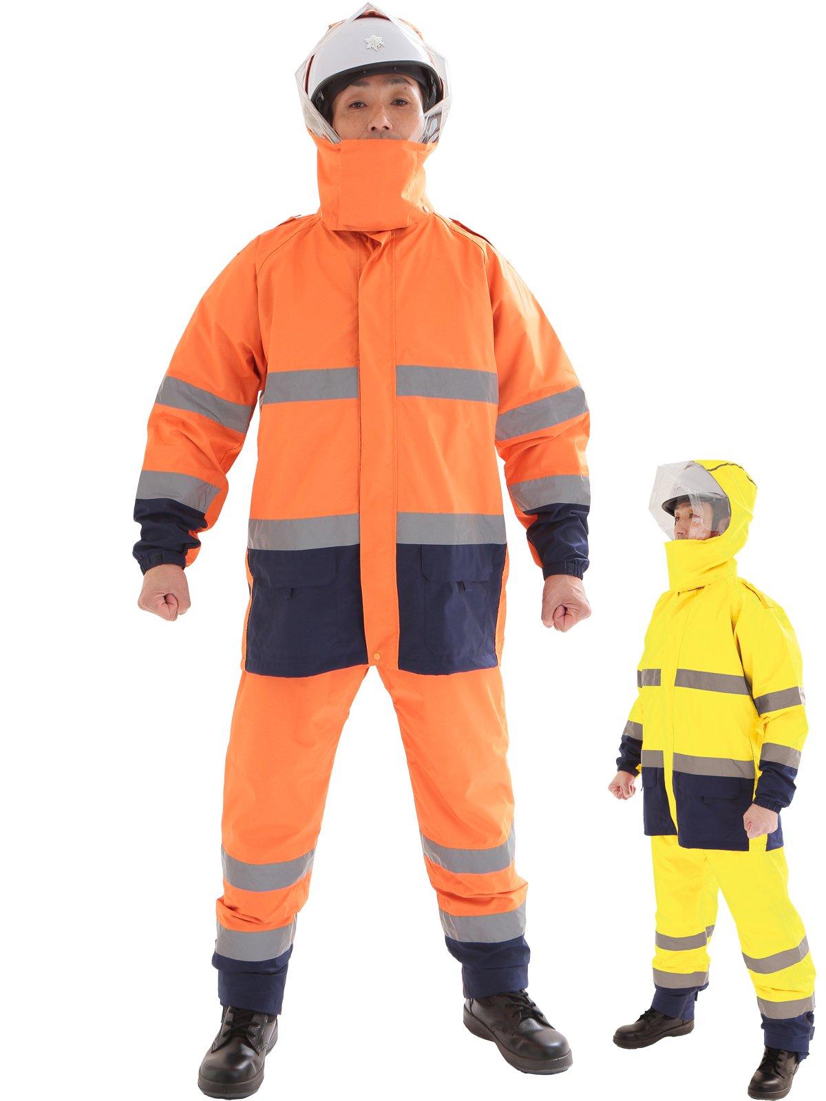 スパーダ ストレッチレイン(消防レインウェア カッパ 雨衣)