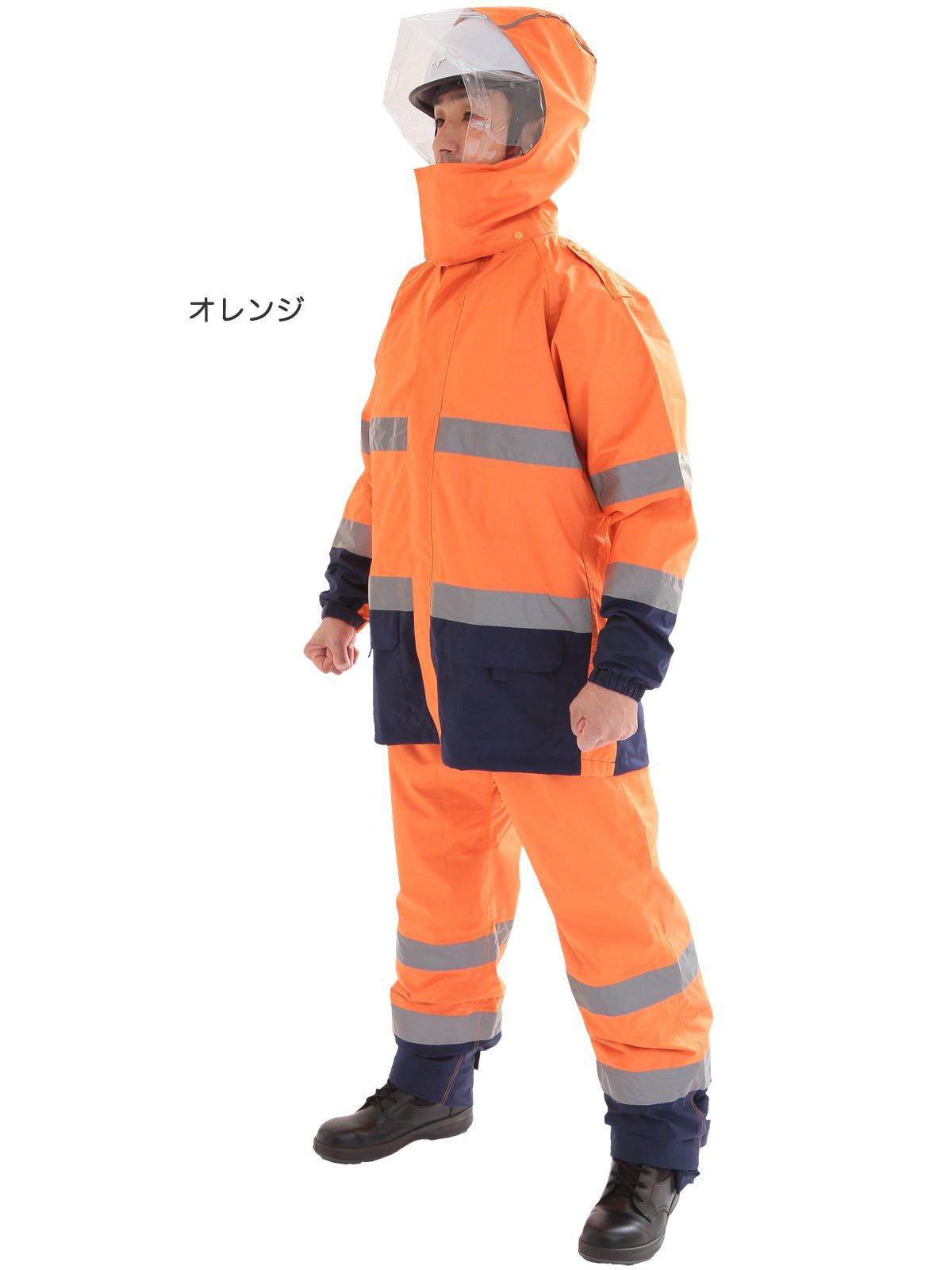 スパーダ ストレッチレイン(消防レインウェア カッパ 雨衣)【画像2】