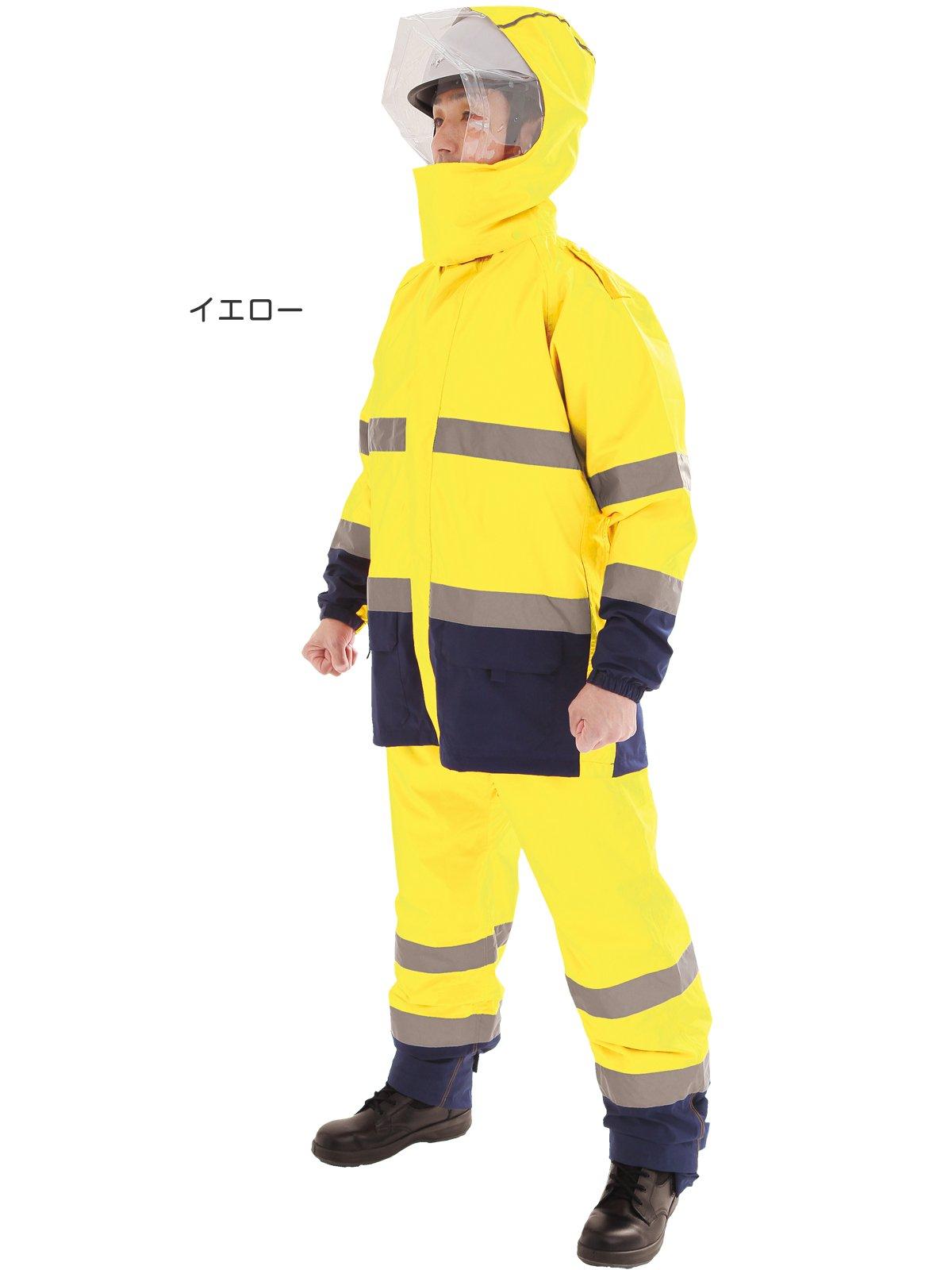 スパーダ ストレッチレイン(消防レインウェア カッパ 雨衣)【画像3】