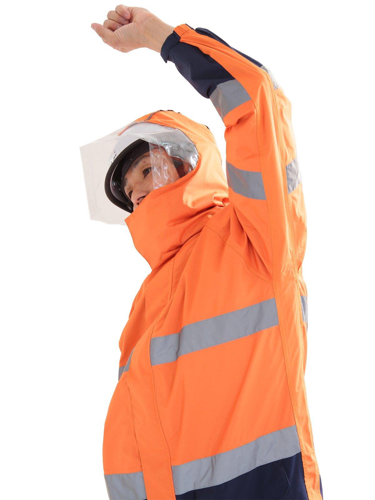 スパーダ ストレッチレイン(消防レインウェア カッパ 雨衣)【画像5】
