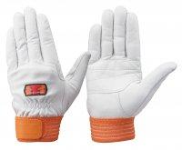 熱中症対策 トンボレックス C-309R 牛革製手袋(ヌバック加工)