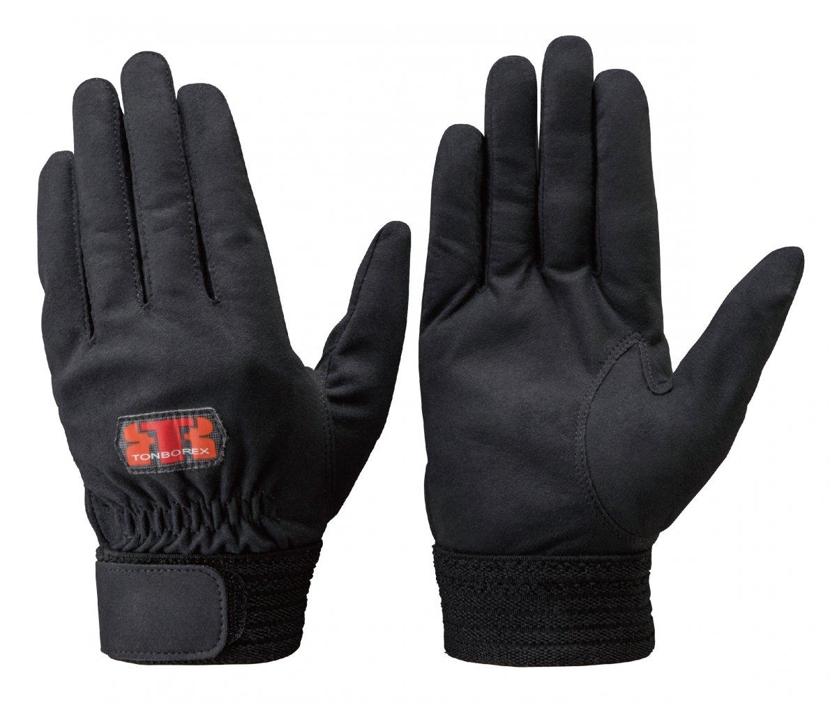 トンボレックス E-REX21BK 人工皮革製手袋
