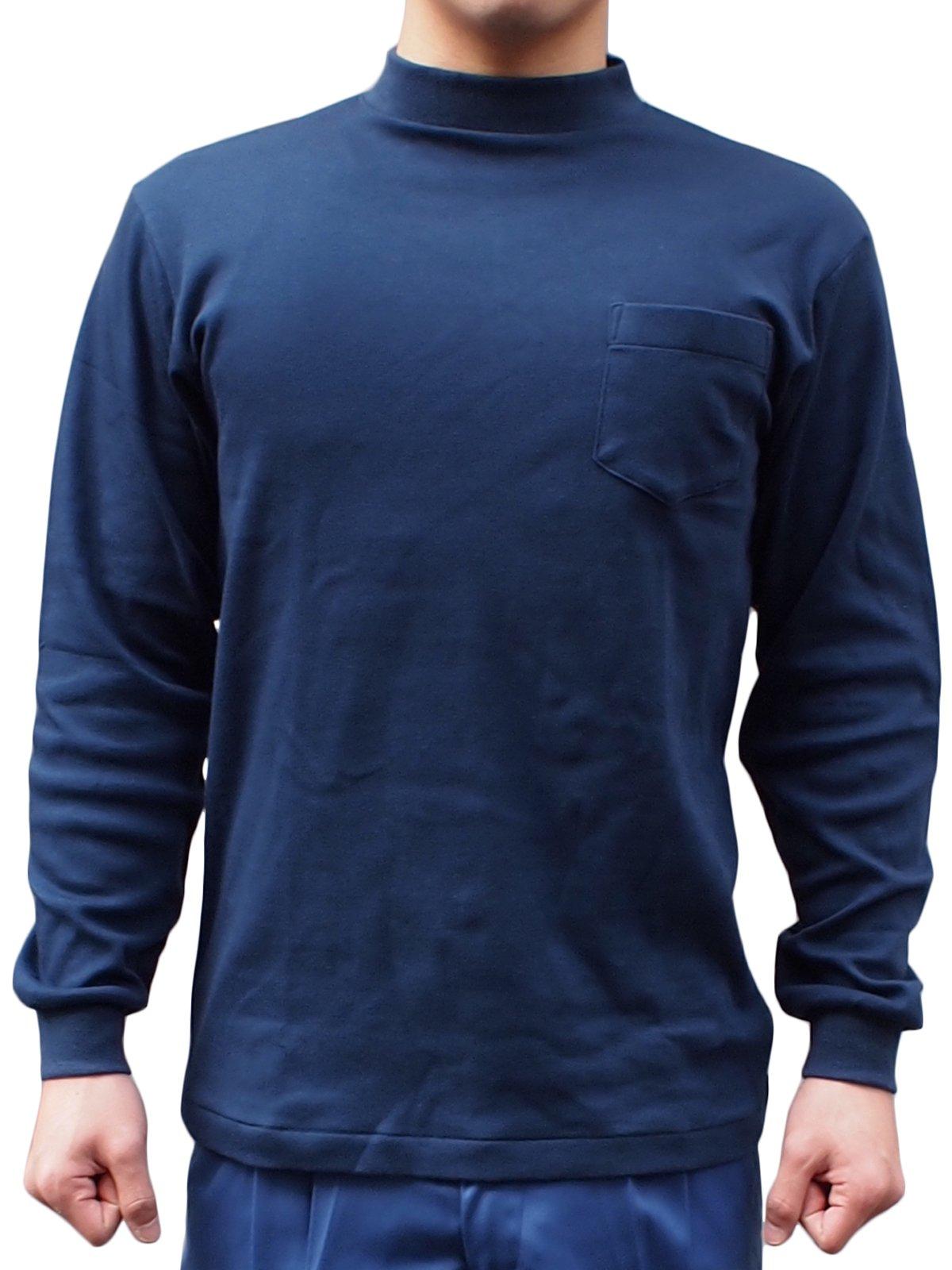 紺長袖パルパーTシャツ