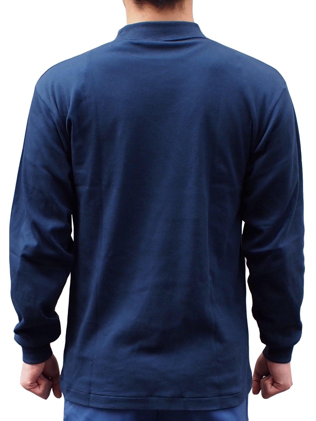 紺長袖パルパーTシャツ【画像2】