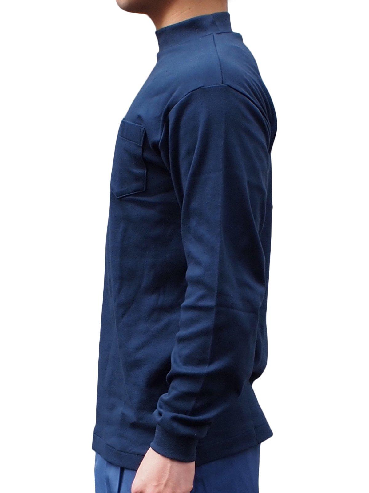 紺長袖パルパーTシャツ【画像3】