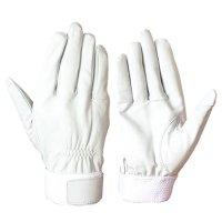 消防ベルト シモン RG-200 手の平補強当て無し 羊革手袋