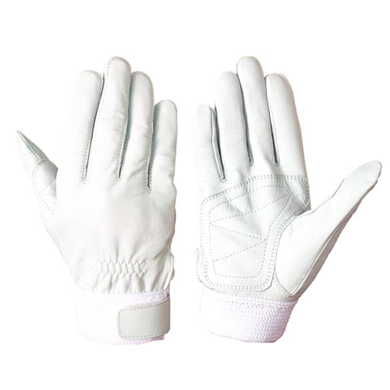 シモン RG-210 手の平補強当て付き 羊革手袋