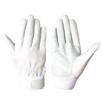 消防ベルト シモン RG-210 手の平補強当て付き 羊革手袋