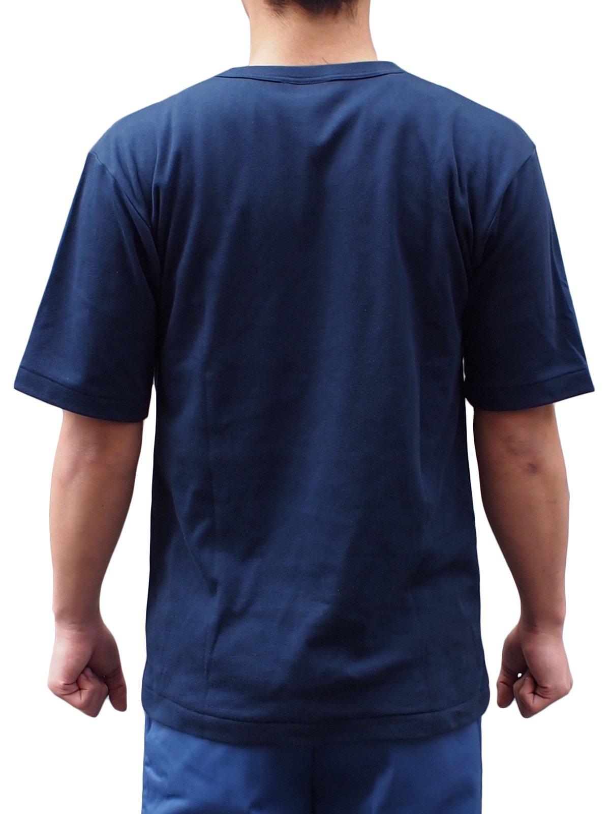 紺半袖パルパーTシャツ【画像2】