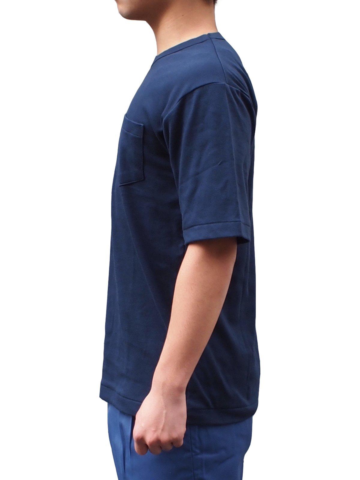 紺半袖パルパーTシャツ【画像3】