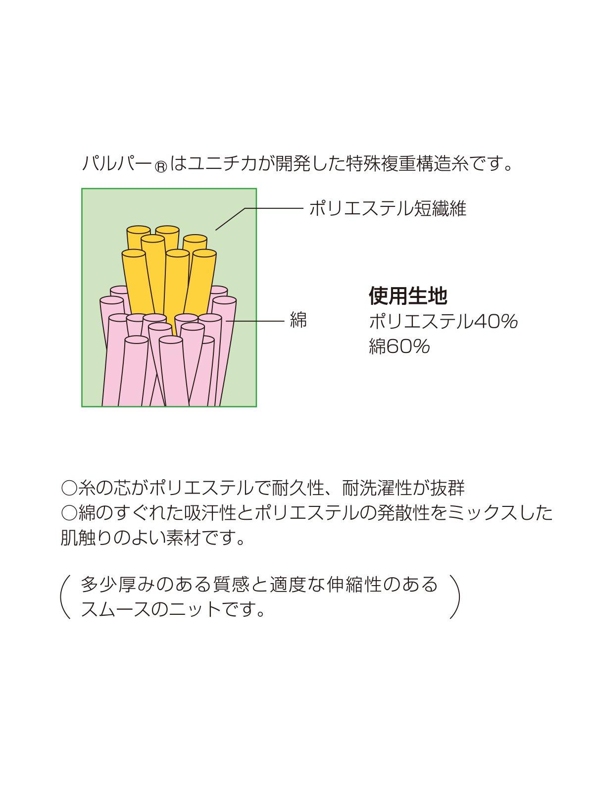 紺半袖パルパーTシャツ【画像4】