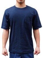 レスカス手袋(日本グローブサービス) 紺半袖パルパーTシャツ