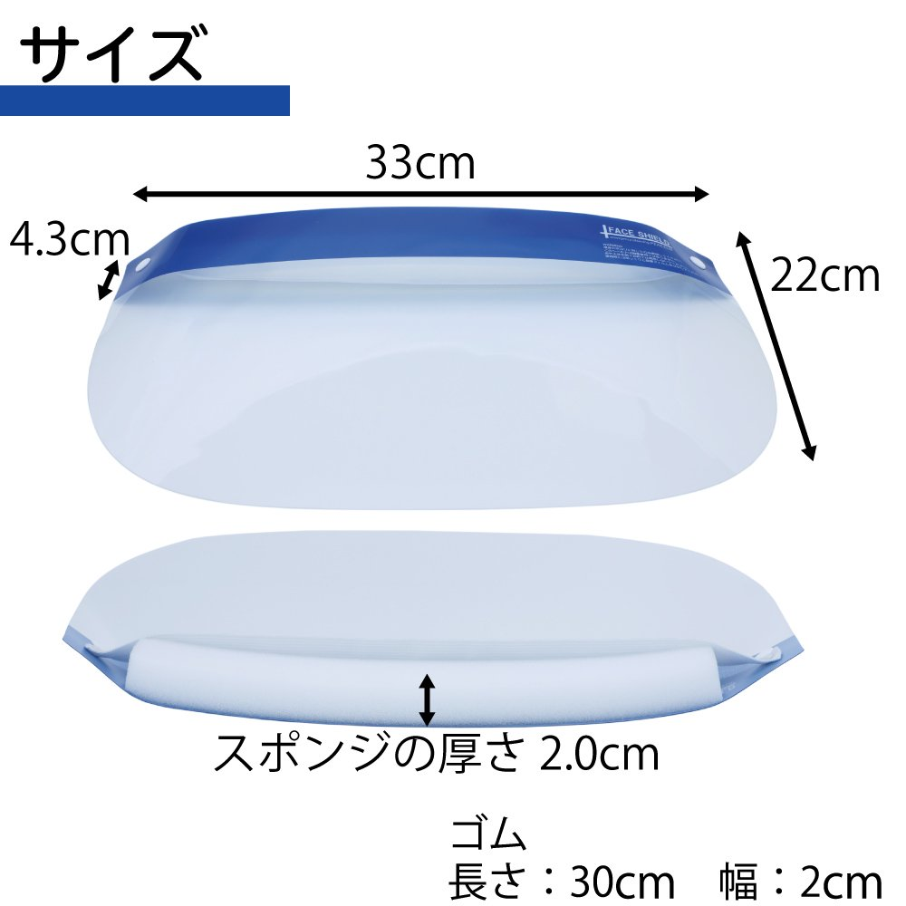 フェイスシールド 350枚セット(140円/枚) 【画像6】