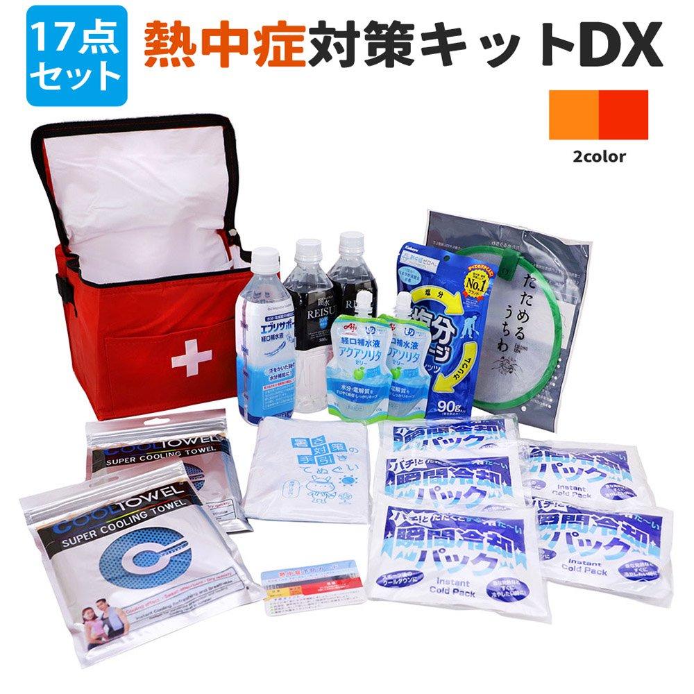 熱中症対策キットDX(デラックス) クーラーバッグに入った応急処置セット 熱中症対策グッズ