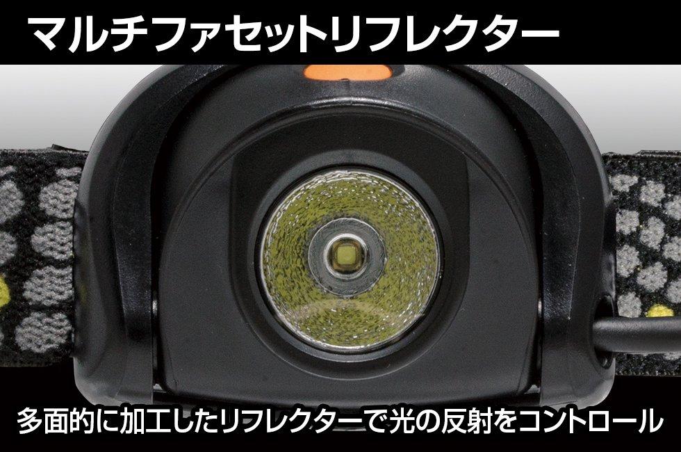 HEAD WARSシリーズ HW-V233D  GENTOS ジェントスヘッドライト 【画像4】