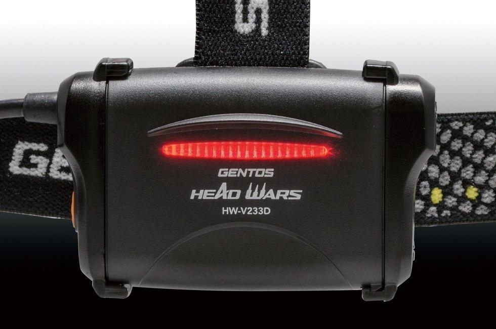 HEAD WARSシリーズ HW-V233D  GENTOS ジェントスヘッドライト 【画像5】