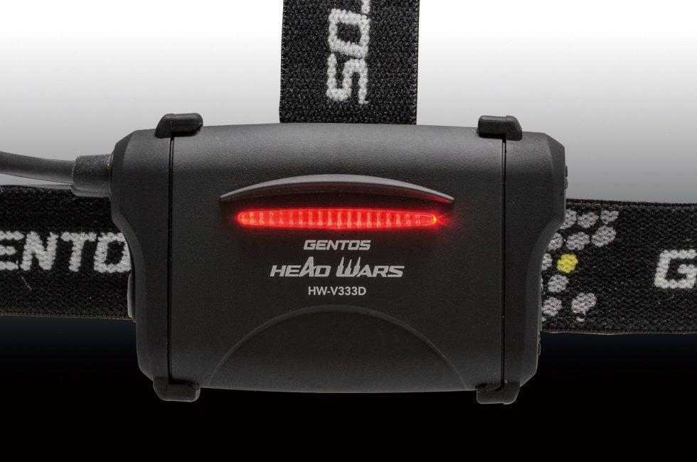 HEAD WARSシリーズ HW-V333D  GENTOS ジェントスヘッドライト 【画像2】