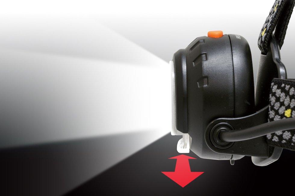 HEAD WARSシリーズ HW-V333D  GENTOS ジェントスヘッドライト 【画像4】
