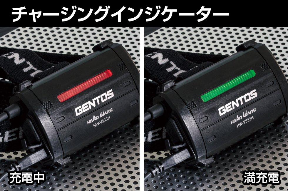 HEAD WARSシリーズ HW-V533H  GENTOS ジェントスヘッドライト 【画像5】