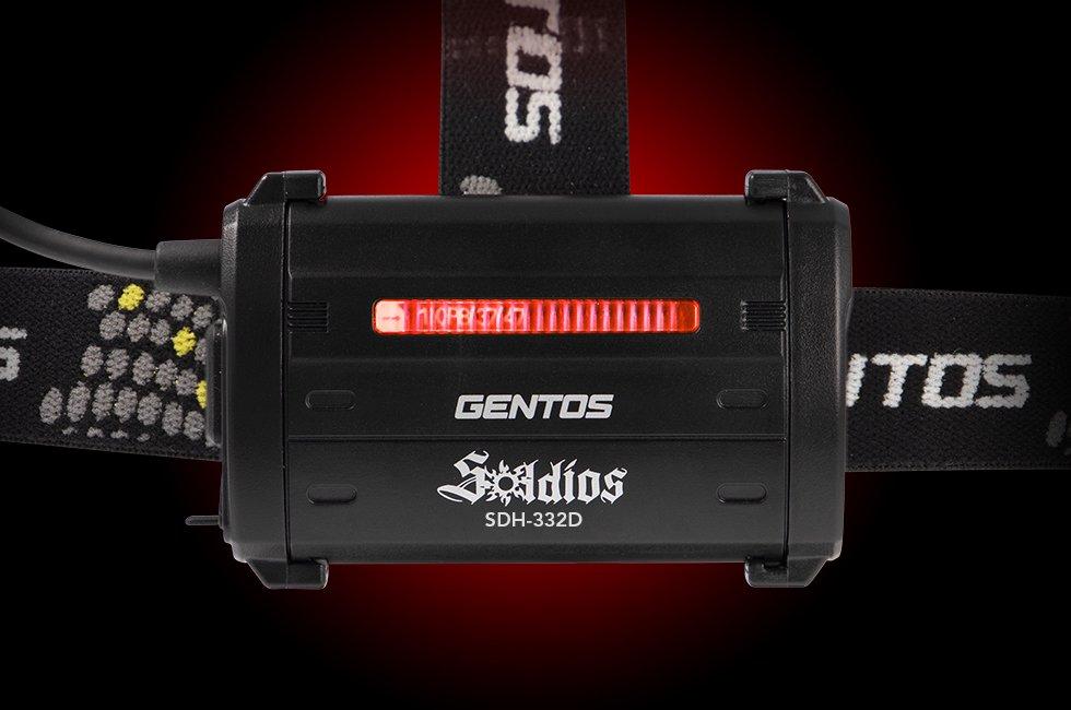 Soldiosシリーズ SDH-332D  GENTOS ジェントスヘッドライト 【画像5】