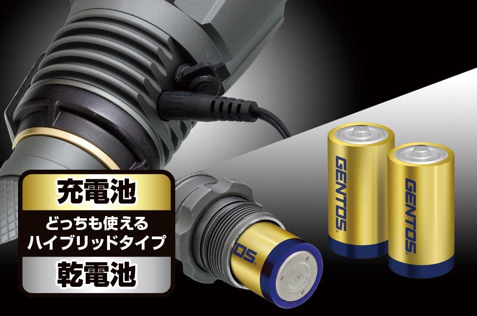 UltiREXシリーズ UT-3200H  GENTOS ジェントス フラッシュライト【画像2】