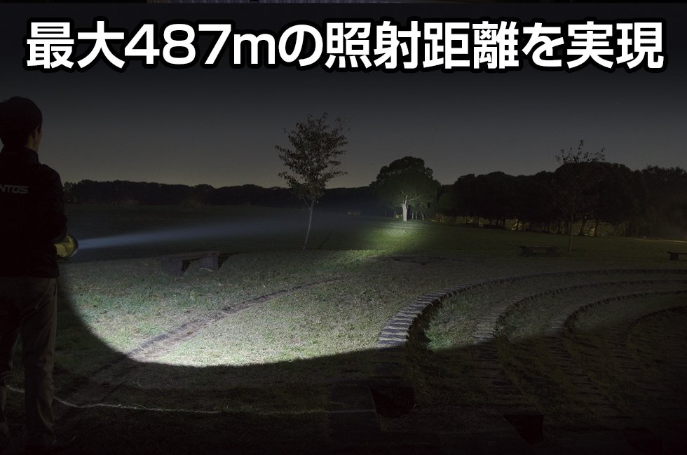 The LEDシリーズ LK-214D  GENTOS ジェントスフラッシュライト【画像2】