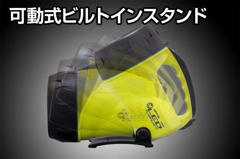 The LEDシリーズ LK-214D  GENTOS ジェントスフラッシュライト【画像3】