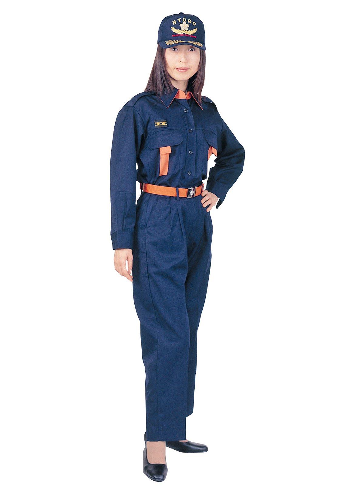 消防団員活動服 上衣 【女性用】【画像4】