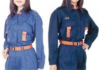 ウェア 消防団員活動服(紺) 上衣 女性用