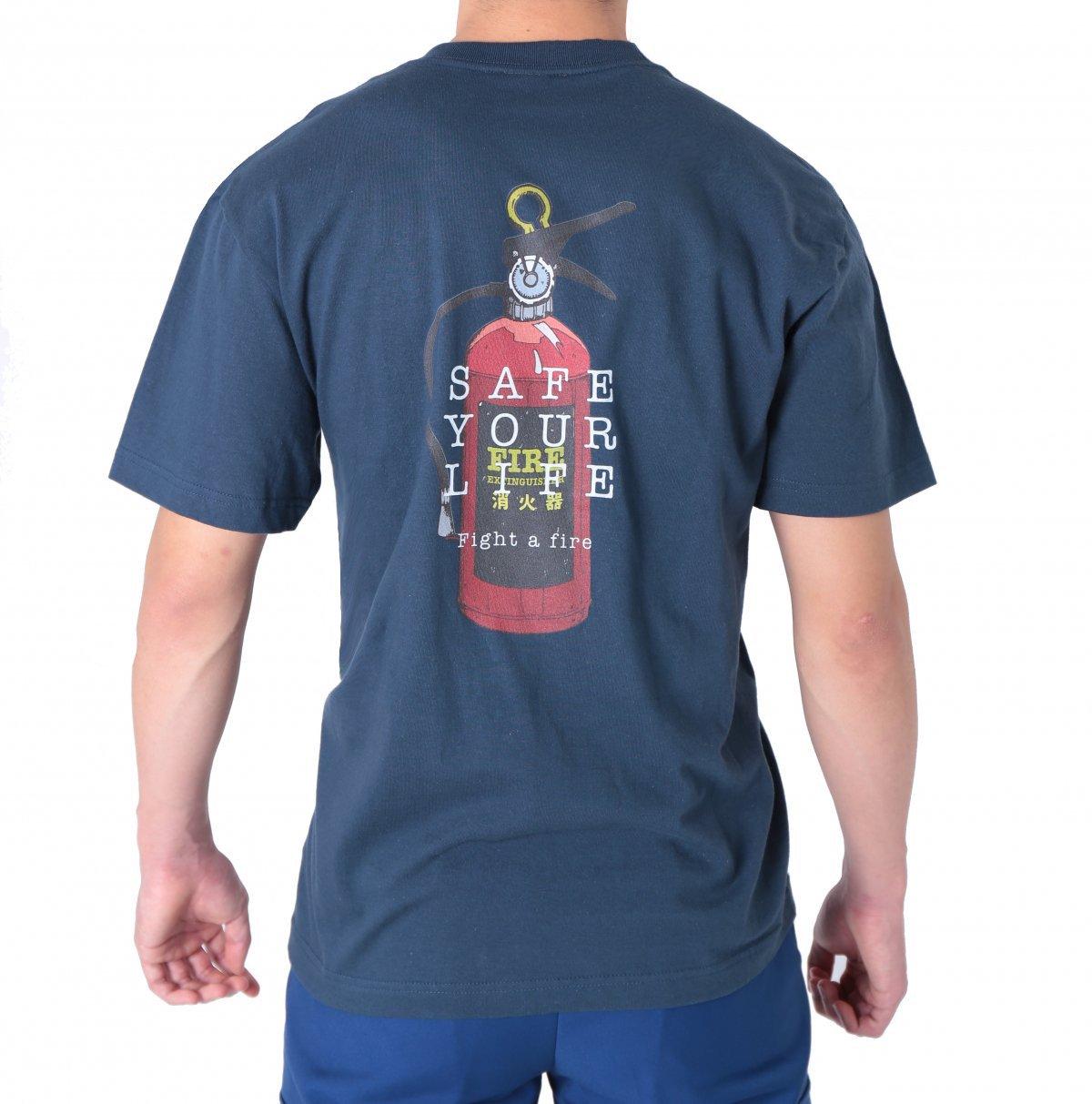 消火器デザインTシャツ