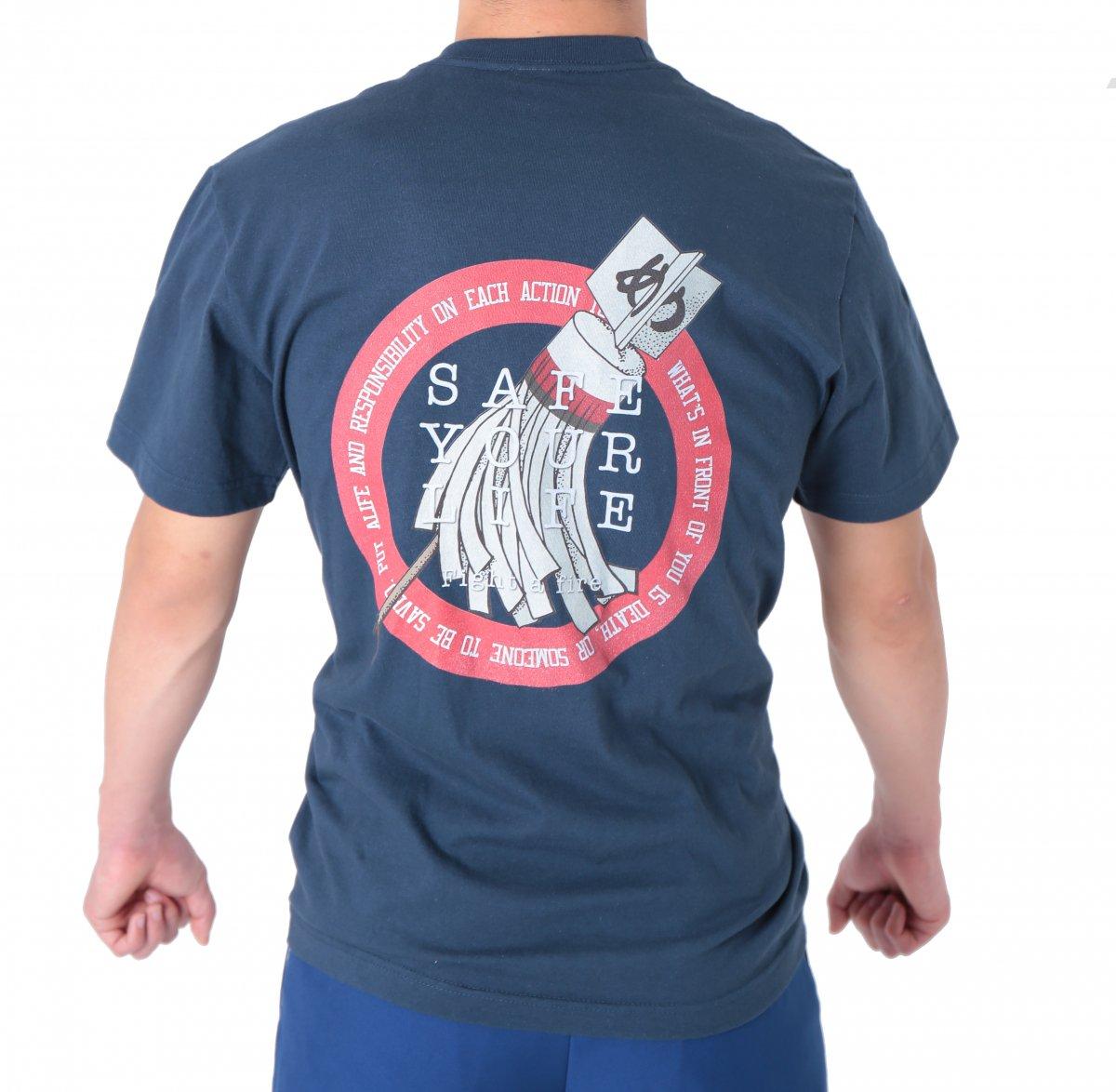 纏(まとい)デザインTシャツ