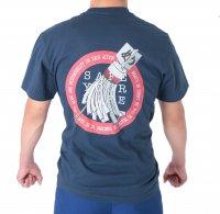 法被用品 纏(まとい)デザインTシャツ