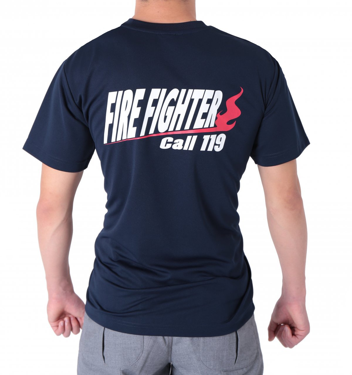 FIRE FIGHTER Call119 デザインTシャツ