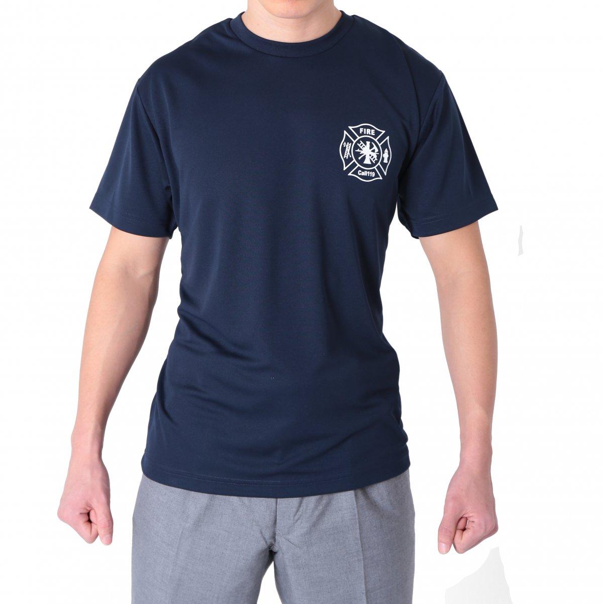 FIRE FIGHTER Call119 デザインTシャツ【画像2】