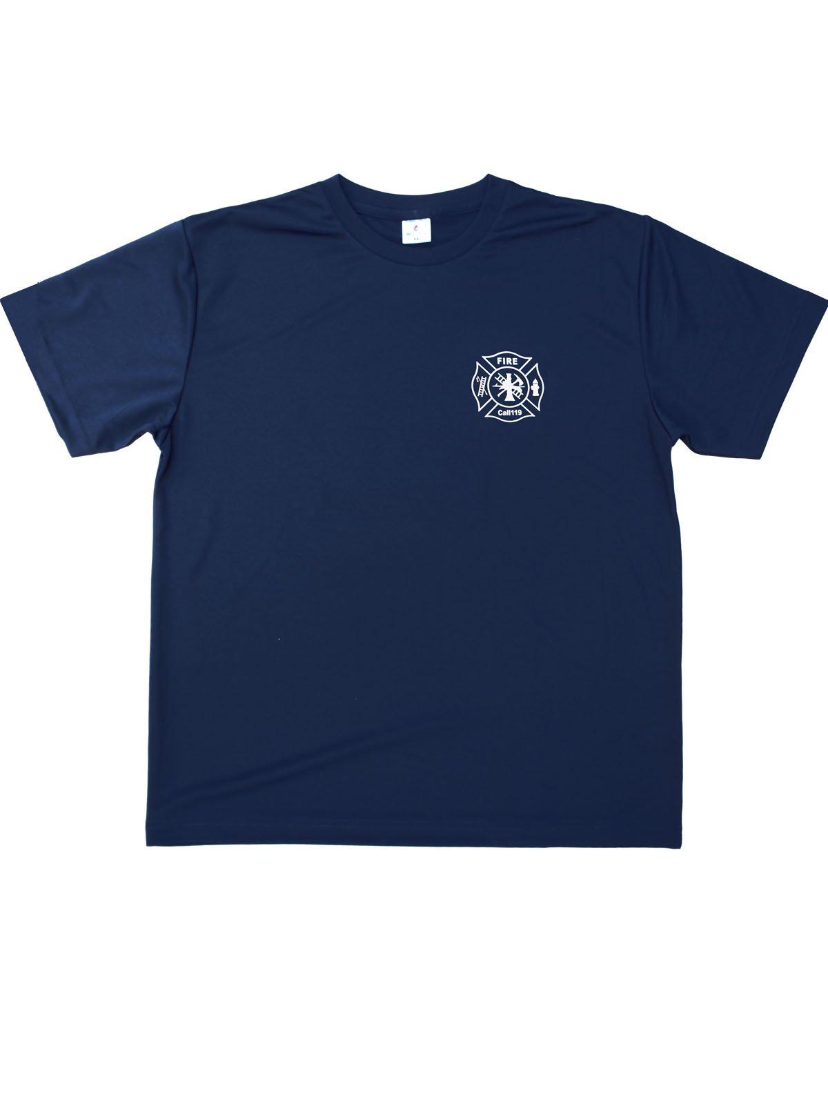 FIRE FIGHTER Call119 デザインTシャツ【画像3】