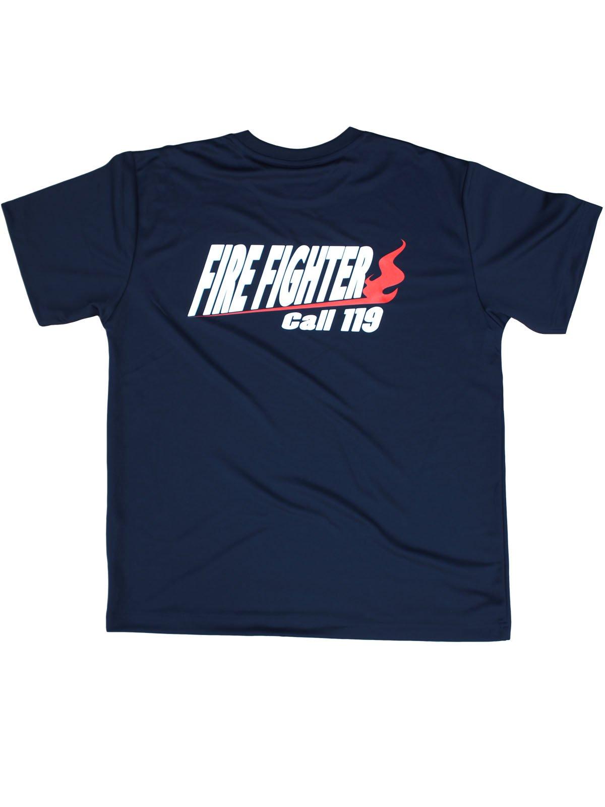 FIRE FIGHTER Call119 デザインTシャツ【画像4】