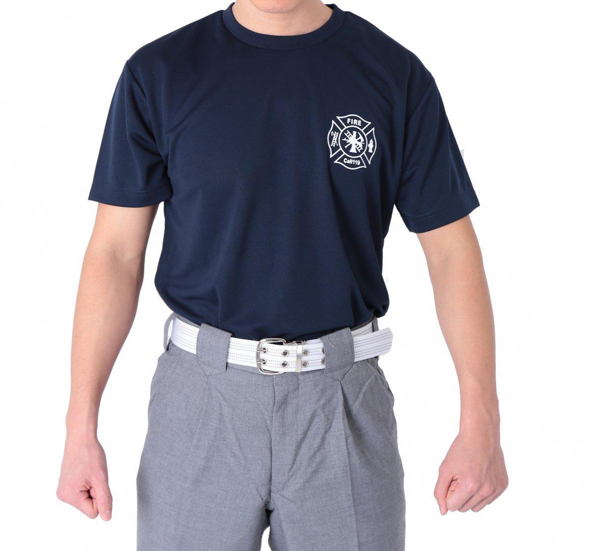 FIRE FIGHTER Call119 デザインTシャツ【画像7】