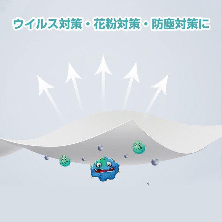 3層構造 マスク取り換えシート 40枚入/箱 個装タイプ テープ付き (日本語パッケージ) 【画像7】
