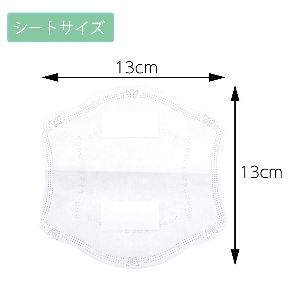 3層構造 マスク取り換えシート 40枚入/箱 個装タイプ テープ付き (日本語パッケージ) 【画像10】