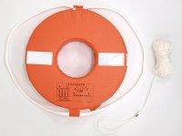 水害・水難救助グッズ 小型船舶用救命浮環 P-160 国土交通省型式承認品 型式承認番号 第3428号