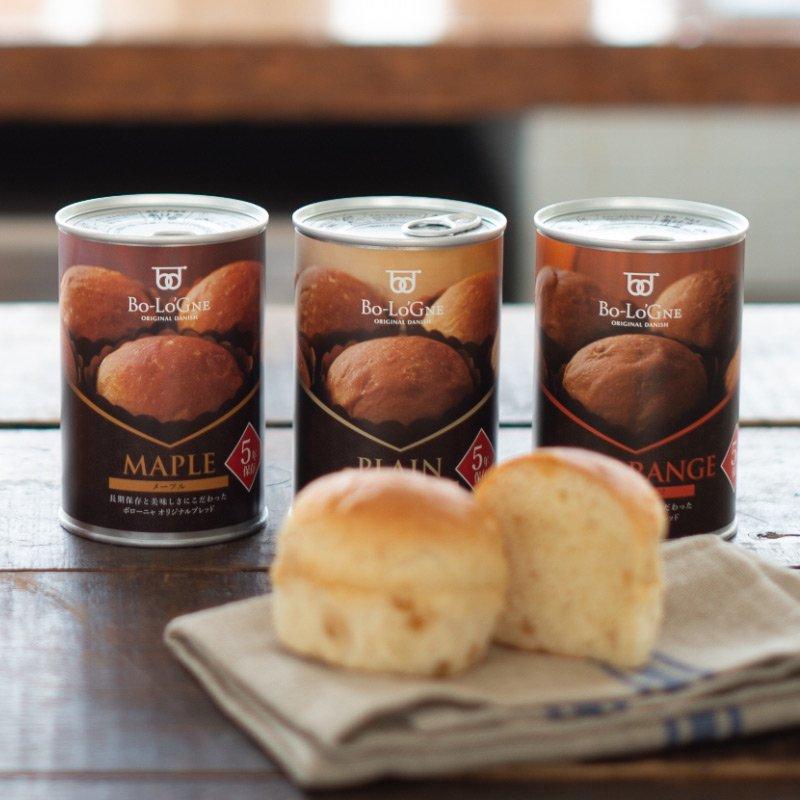 【5年保存】 備蓄deボローニャ 3種類 3缶セット【画像3】