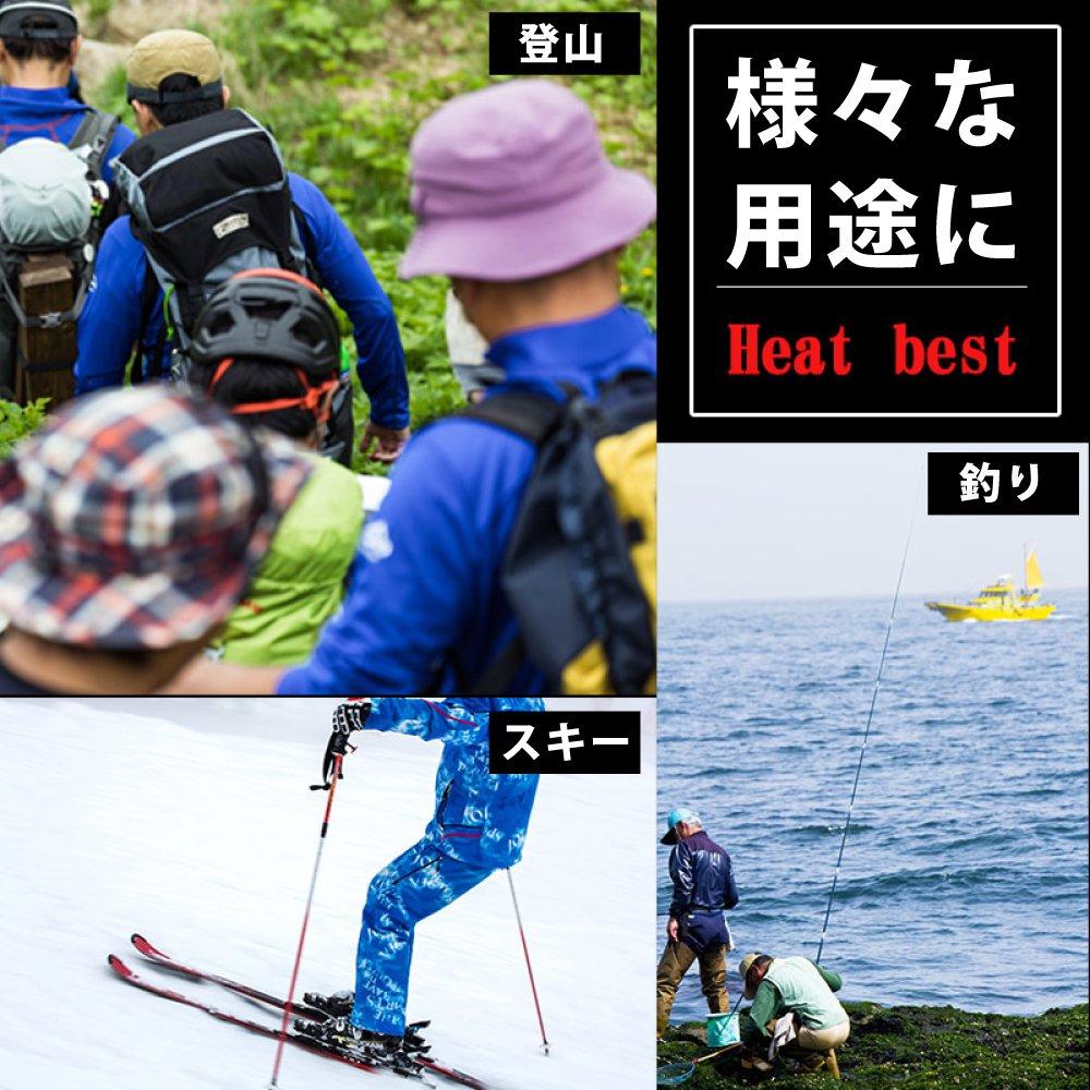 フリース 電熱ベスト USBヒートベスト【画像4】