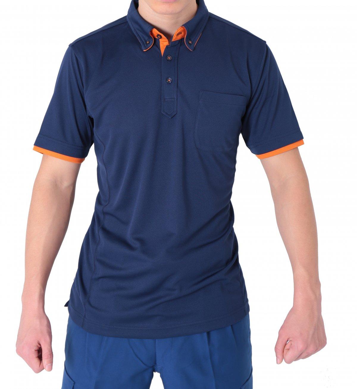 消防ポロシャツ(半袖 消臭機能付き)