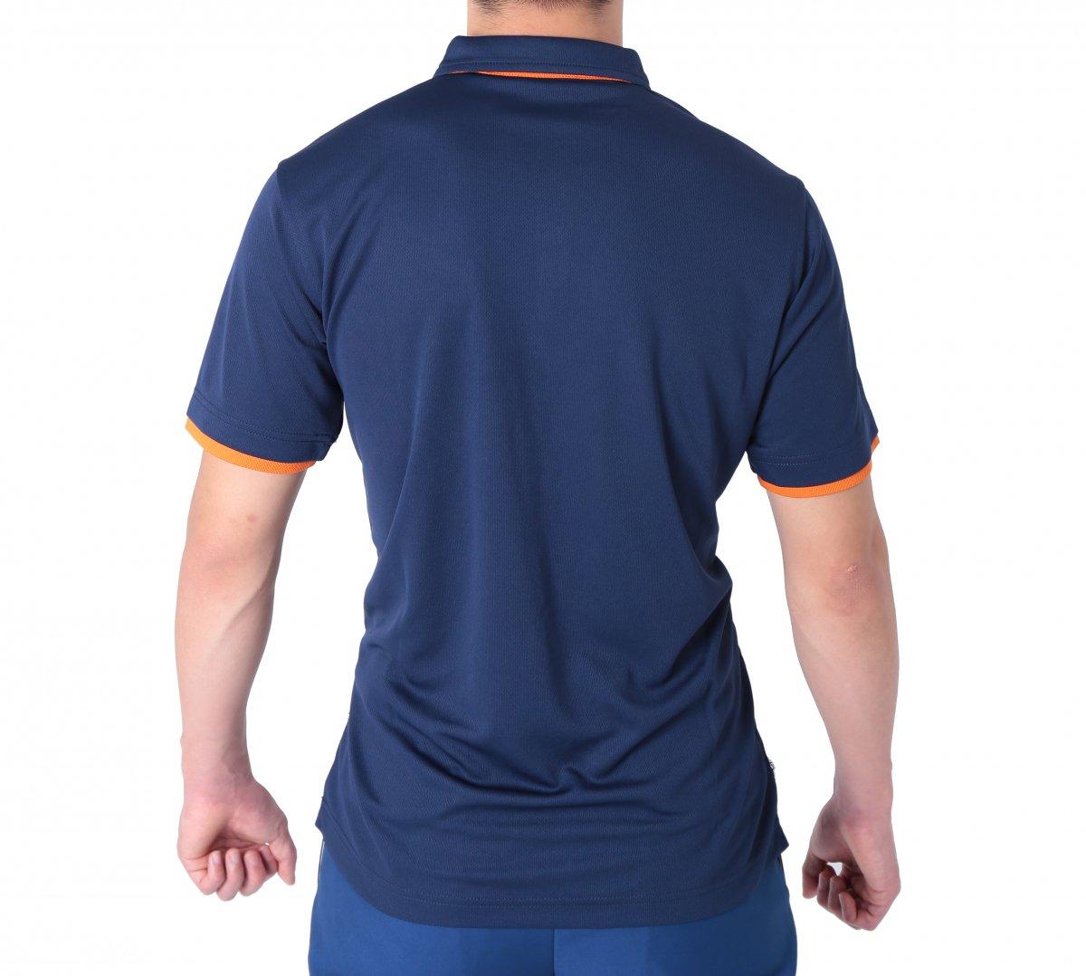 消防ポロシャツ(半袖 消臭機能付き)【画像2】