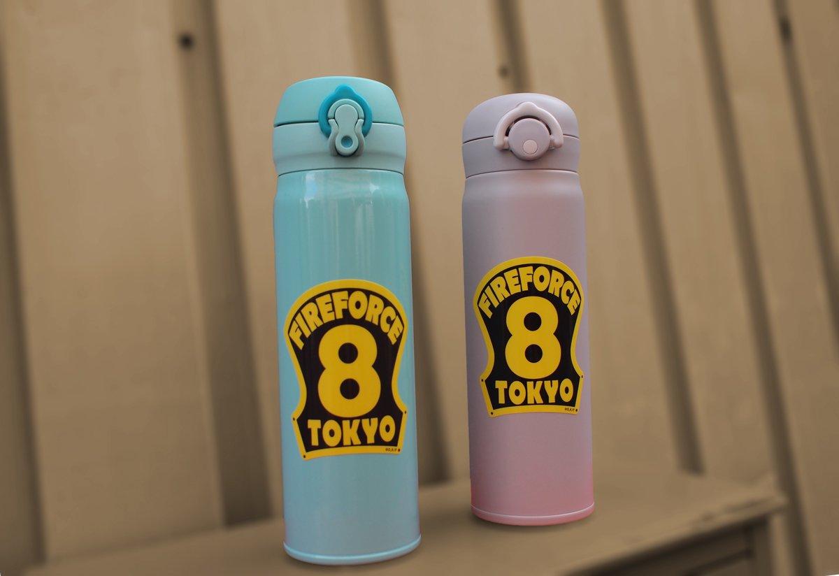 【炎炎ノ消防隊】第8特殊消防隊 ヘルメット前章シール【画像2】