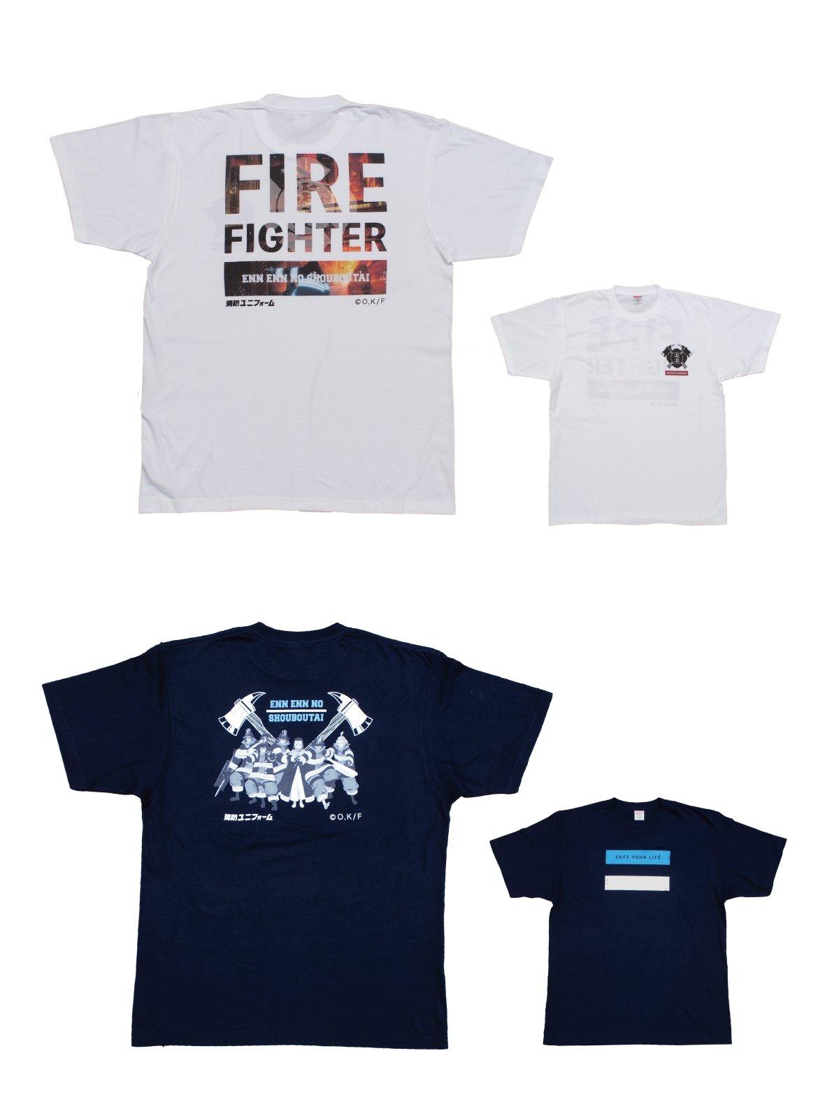 【炎炎ノ消防隊】特殊消防隊 特製Tシャツ