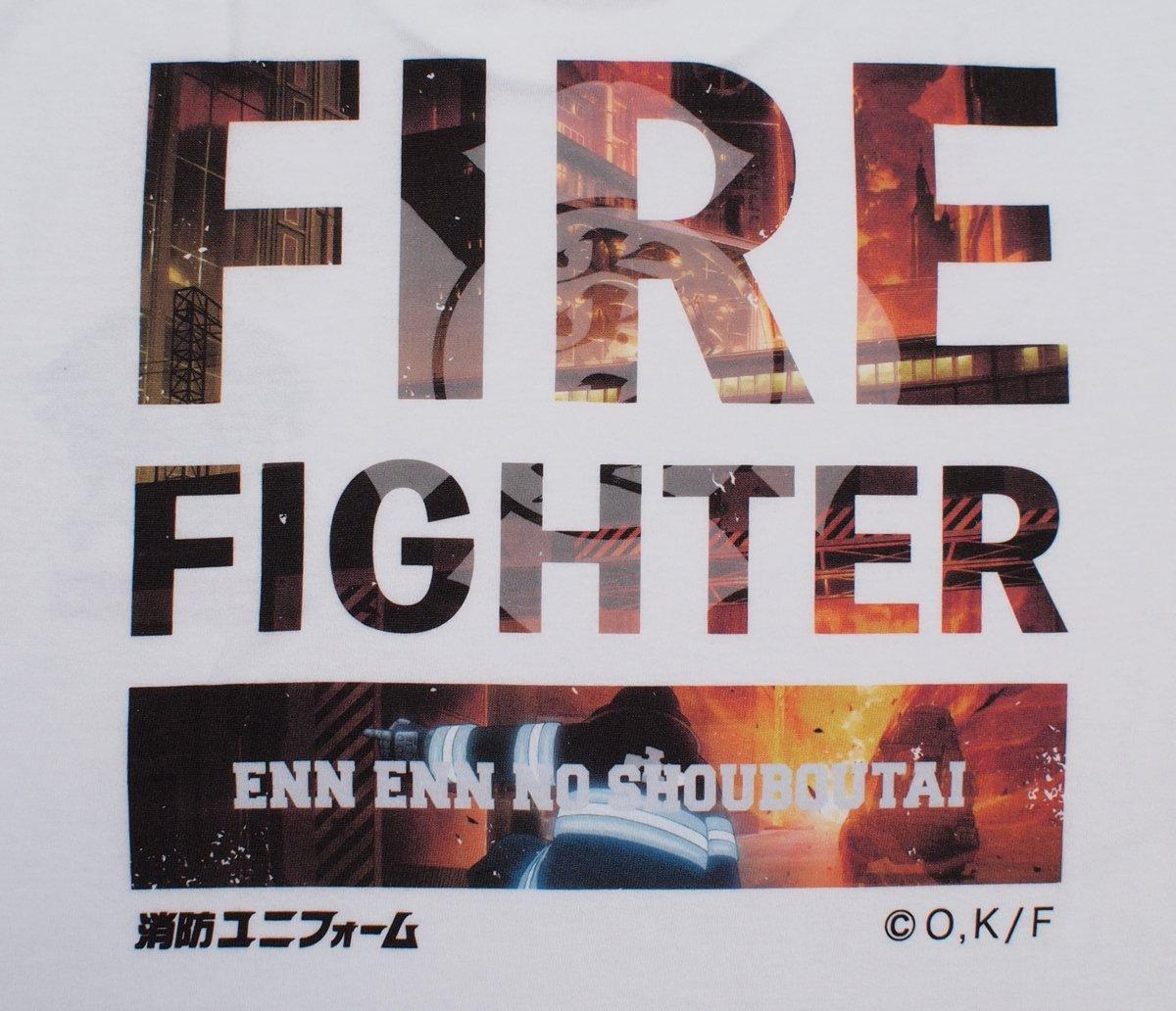 【炎炎ノ消防隊】特殊消防隊 特製Tシャツ【画像11】