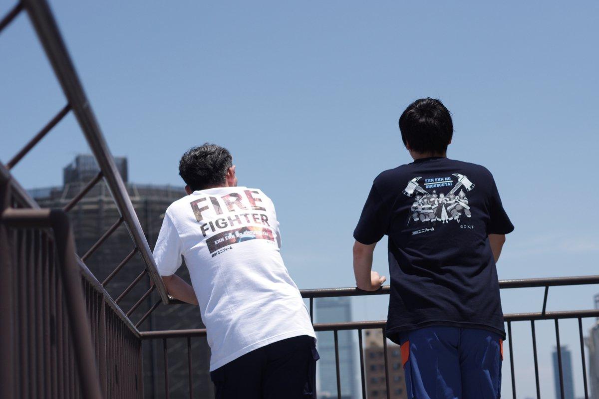 【炎炎ノ消防隊】特殊消防隊 特製Tシャツ【画像7】