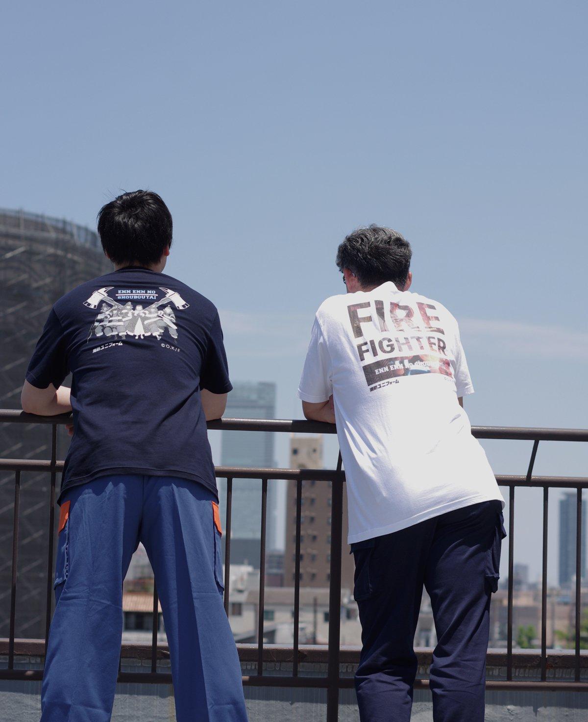 【炎炎ノ消防隊】特殊消防隊 特製Tシャツ【画像8】