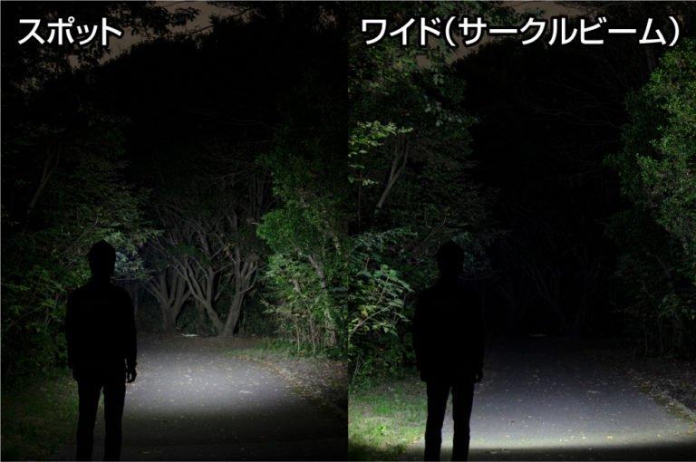 HEAD WARSシリーズ (White Box ver.) HLP-2103  GENTOS ジェントスヘッドライト 【画像3】